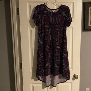 LuLaRoe Patterned Carly Dress